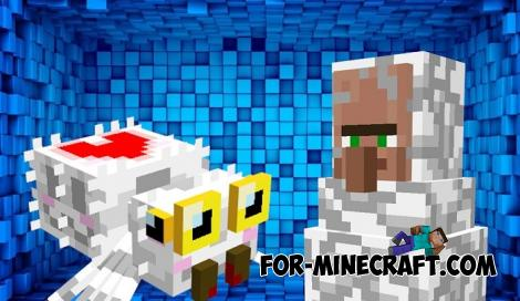 New Spiders Addon for Minecraft PE 1.13 and 1.14