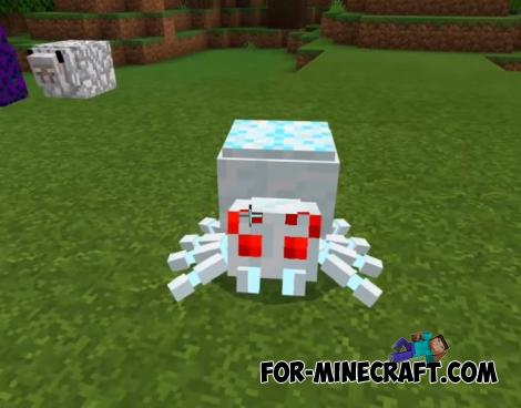 New Spiders Addon for Minecraft PE