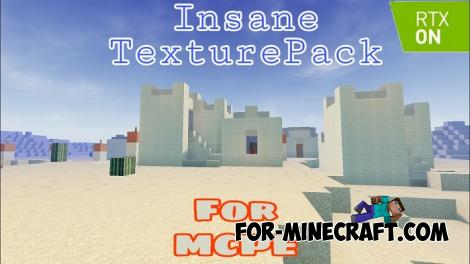 RTX Texture Pack For Minecraft PE 1.12/1.14