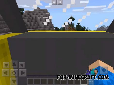 Hovercraft Addon for Minecraft PE 1.14
