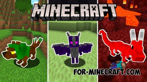 Biome Pets Addon for Minecraft PE 1.14