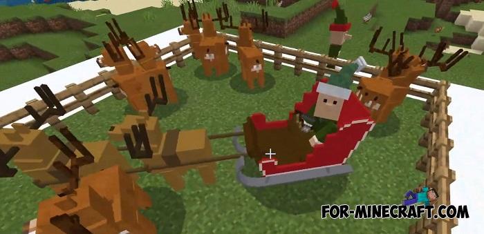 Xmas 2020 Addon for Minecraft PE 1.14