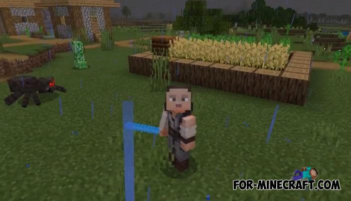 Star Wars Lightsabers Addon For Minecraft Pe 1 14