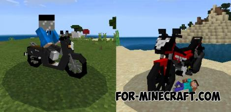 Honda Sonic & Scoopy Addons for Minecraft PE 1.14