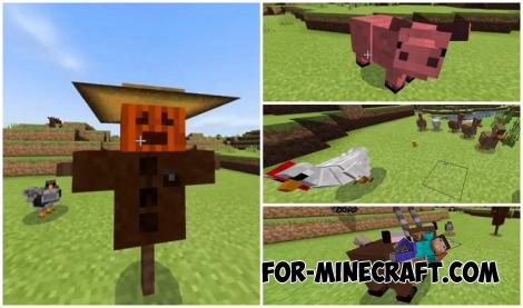 yFarmCraft Addon for Minecraft PE 1.14
