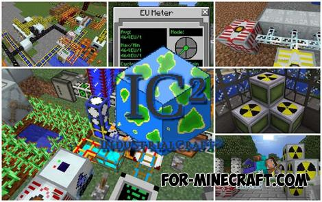 IndustrialCraft PE Mod for Minecraft PE
