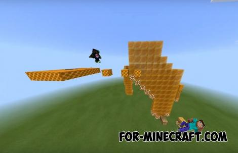 Honey Parkour Map for Minecraft PE 1.14.0