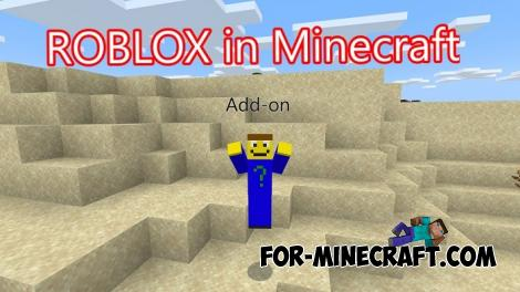 Roblox Movements Addon for Minecraft PE 1.14