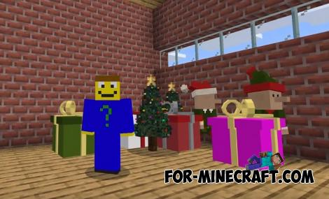 Xmas 2020 Addon for Minecraft PE 1.14