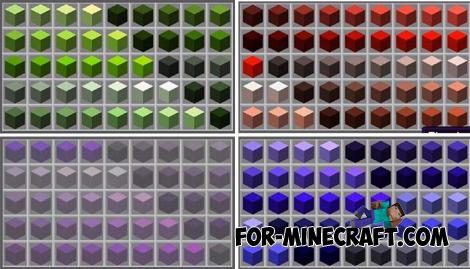 PixelDream Addon (More 4000 Colors) for Minecraft PE 1.13