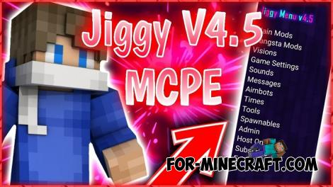 JiggyMenu Hack for Minecraft PE