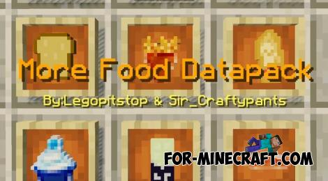 More Food Pack for Minecraft PE 1.14