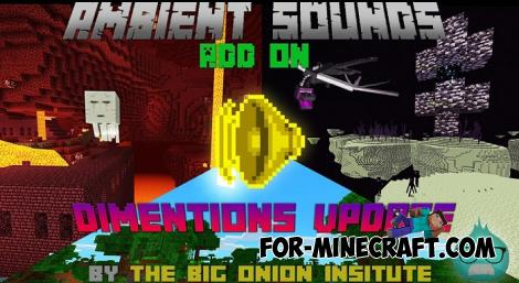 New Ambient Sounds for Minecraft PE 1.14