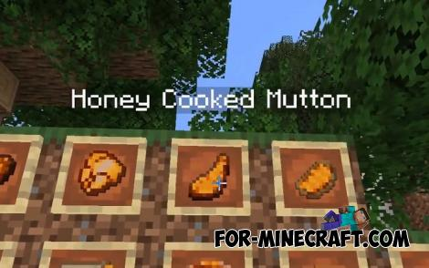 More Honey Food for Minecraft PE
