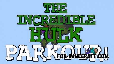 Hulk Parkour Map for Minecraft PE 1.14.2+