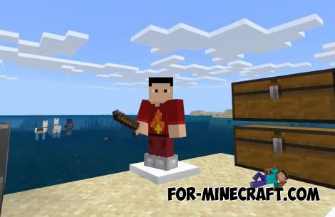 Skilled Fisherman Addon for Minecraft PE 1.14
