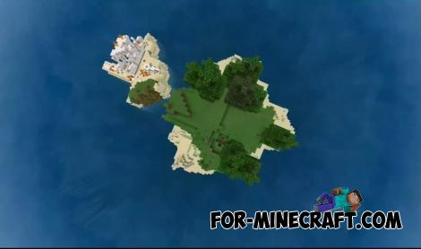 Lost Island Map for Minecraft PE 1.14