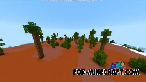 Exotic Biomes Addon for Minecraft PE 1.14.2