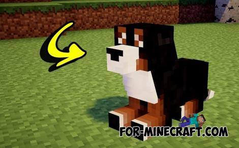 Dog Addon for Minecraft PE 1.14.2