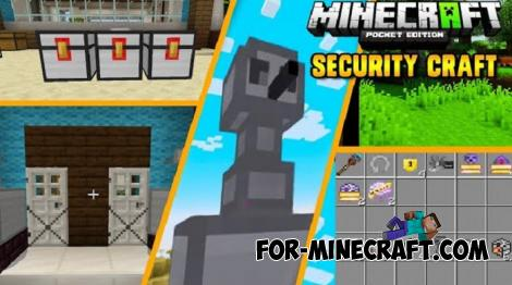 SecurityCraft Addon for Minecraft PE 1.14
