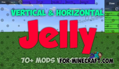Jelly Hack for Minecraft PE 1.13/1.14