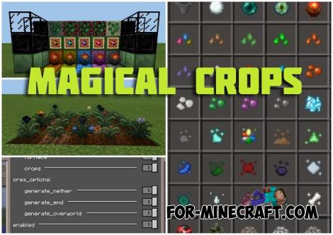 Magical Crops Mod for Minecraft PE