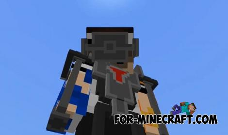 ExoSkeleton Addon for Minecraft PE
