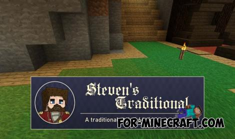 Stevens Traditional Texture Pack for Minecraft PE 1.14