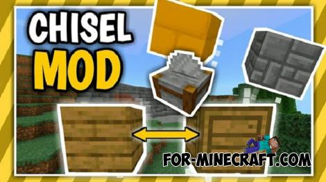 Chisel Addon for Minecraft PE