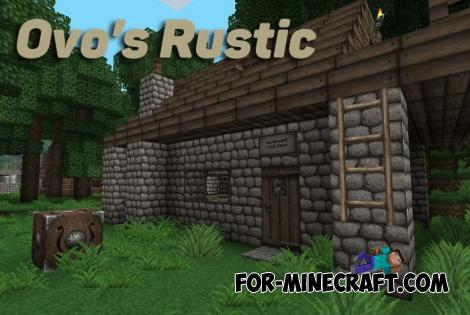 Ovo's Rustic Texture Pack for Minecraft Bedrock