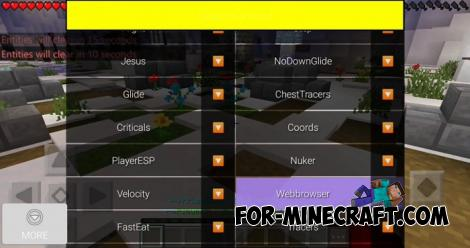 DragOP Hack for Minecraft PE