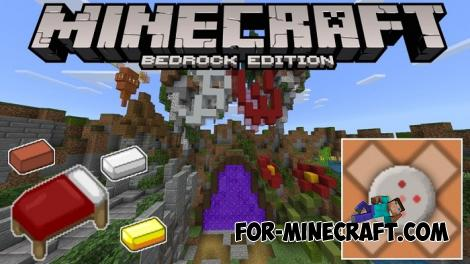 Automatic BedWars Map for Minecraft PE 1.14