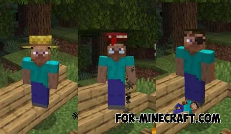 Villagers Hats Addon for Minecraft PE 1.14