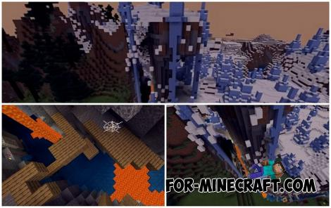 Ice Spike Ravine Seed for Minecraft Bedrock