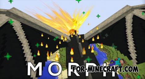 Ender Dragon Morphing Addon for Minecraft PE