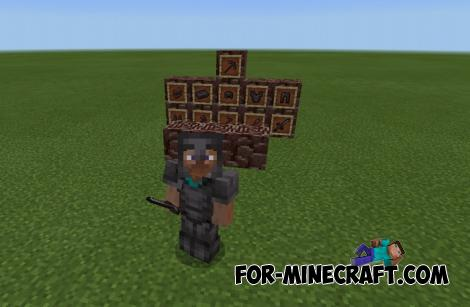 Netherite Tools Mod for Minecraft PE 1.15