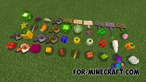 Crops Plus Addon (More Crops) for Minecraft Bedrock 1.14