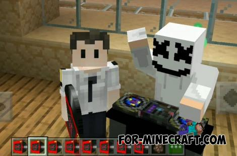 DJ Addon for Minecraft PE 1.14 1.15