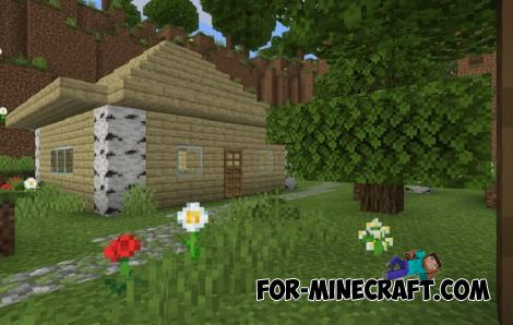 Find 5 Buttons Map for Minecraft Bedrock