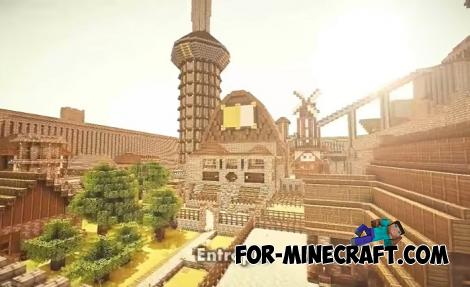 Entropia Map for Minecraft PE 1.15