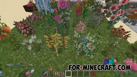 Flora Addon for Minecraft PE