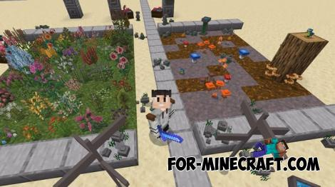 Flora Addon for Minecraft PE 1.15