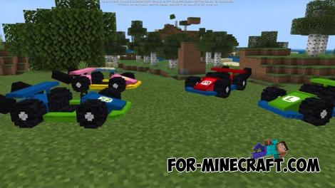 Super Mario Kart Mod for Minecraft PE