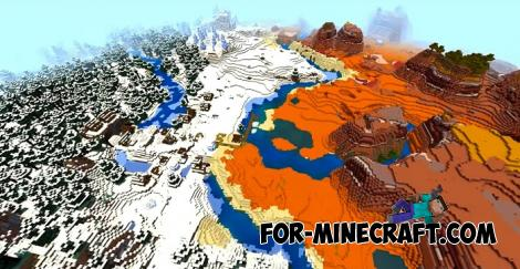 Global Warming Seed for Minecraft Bedrock 1.16