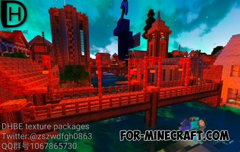 DHBE Resource Pack for Minecraft Bedrock