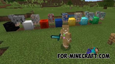 Ore Sheep Addon for Minecraft PE 1.16