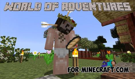 World of Adventures Mod for Minecraft Bedrock Edition