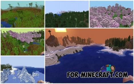 Better Natural Environment Addon for Minecraft PE 1.16