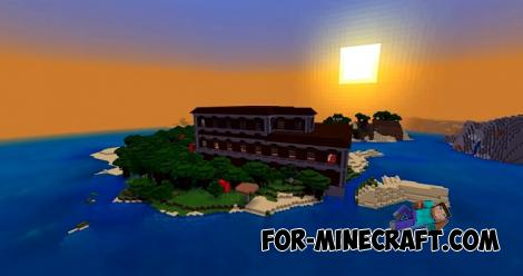 Sea Mansion Seed for Minecraft Bedrock 1.16