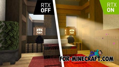 Minecraft 1.16 with RTX